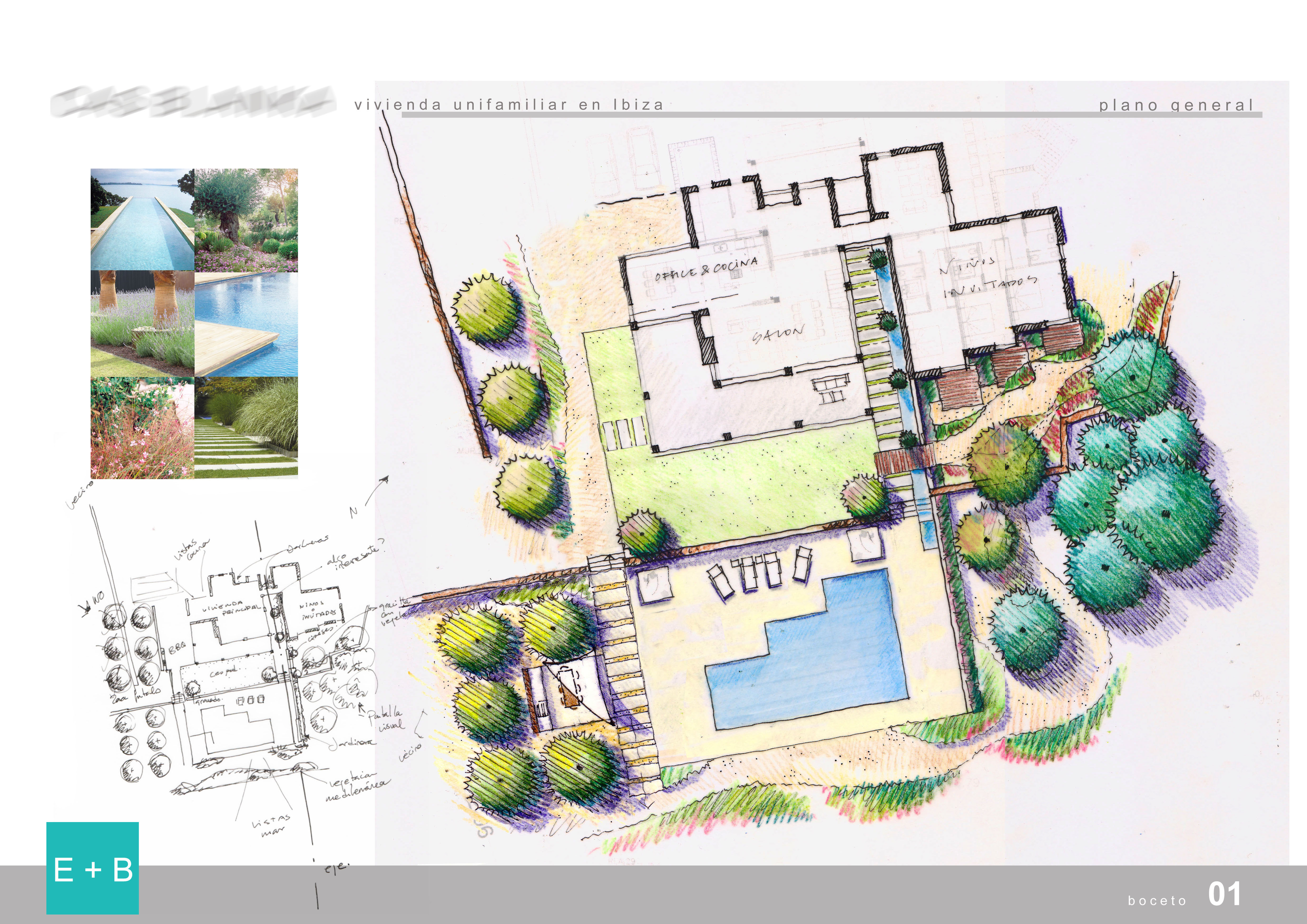 Paisajismo e b paisajismo for Planos de jardines
